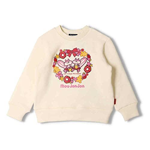 【子供服】 moujonjon (ムージョンジョン) ネット限定日本製動物裏起毛トレーナー 80cm〜130cm M64622
