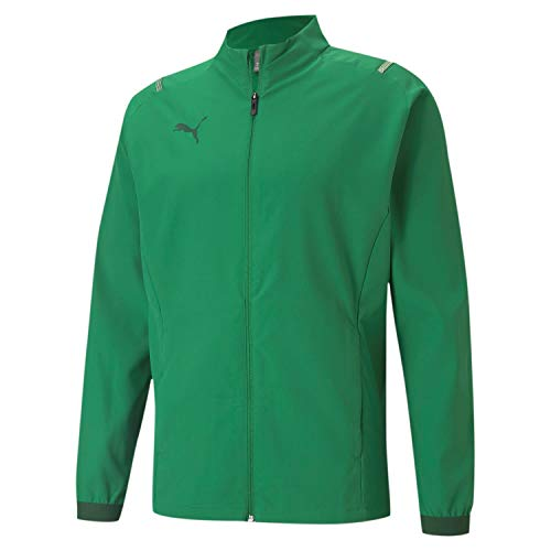 PUMA Teamcup Sideline Jacket Chaqueta De Entrenamiento, Hombre, Amazon Green-Dark Green, XXL