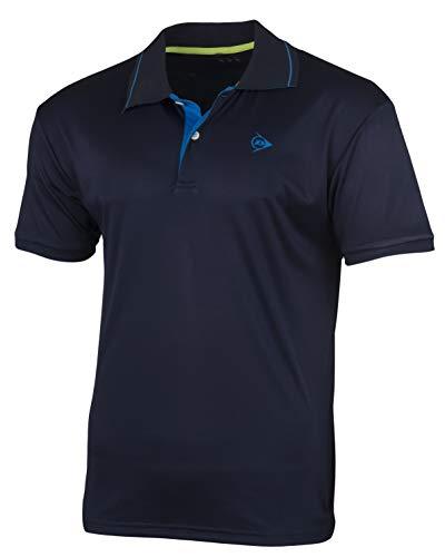 Dunlop Herren Club Line Men Polo, Navy, L