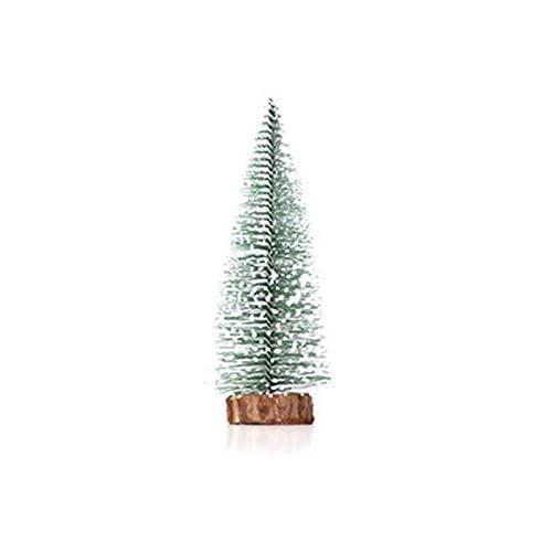 Mini albero di Natale desktop cedro piccolo albero di Natale vetrina desktop regali di Natale decorazioni natalizie 20 cm