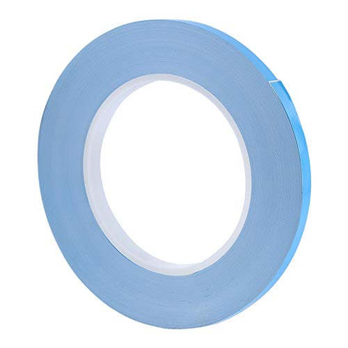 Cinta térmica de Doble Cara, Cinta Adhesiva térmica de 8 mm para Enfriador de Aletas LED IC Fijo