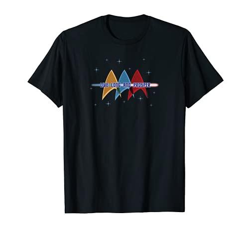Star Trek : la série originale Live Long et Prosper Deltas T-Shirt