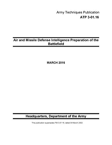 Army Techniques Publication ATP 3-01.16 Air and Missile Defense Intelligence Preparation of the Battlefield MARCH 2016 (English Edition)