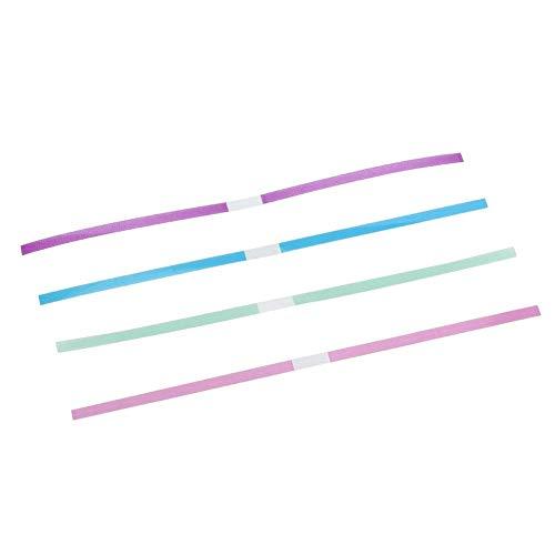 Bandes de finition, bandes abrasives, bandes de polissage dentaire en fibre, 60 pièces/paquet flexible multifonctionnel pour le lissage pour le polissage
