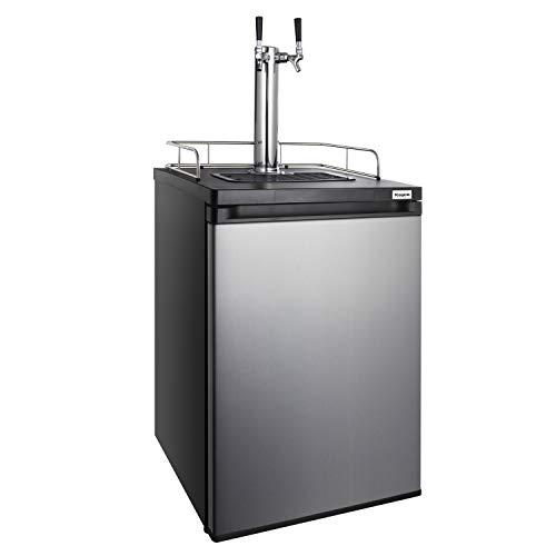 Kegco HBK209S-2 Keg Dispenser, stainless steel
