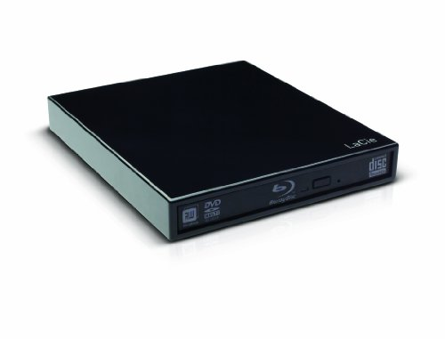 LaCie Slim Blu-Ray 6x USB 3.0 Optical Drive 9000281