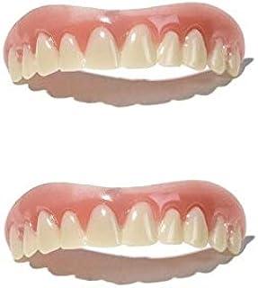 インスタント 美容 入れ歯 上歯 2個セット (free size (Medium)