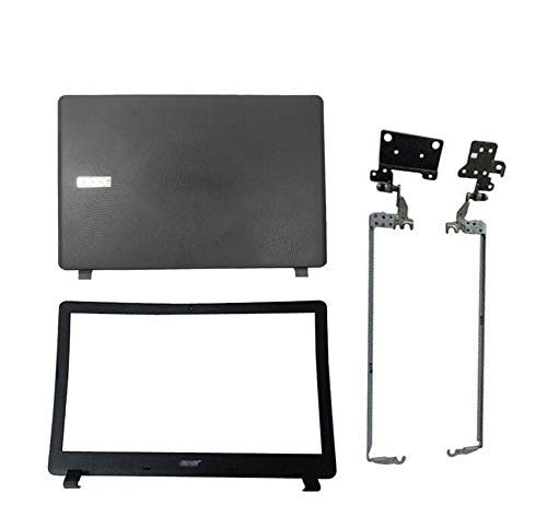 Replacement for Acer Aspire ES1-572-31KW ES1-532G ES1-533-C55P LCD Top Rear Lid & Bezel & Hinges
