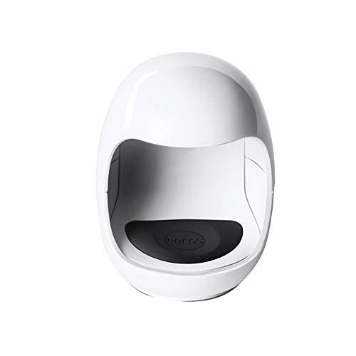 Forme D'oeuf Mini Sèche-Ongles UV/LEDNail Lampe Machine Luminothérapie Portable USB Petit Séchoir À Séchage Rapide Portable Lampe LED Cuisson Cadeau (Couleur : Blanc)
