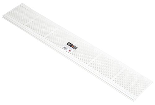 Amerimax home products 86670 snap-in filter gutter guard, 3', white (pack of 25)