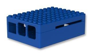 Pi-Blox Lego Case for Raspberry Pi - Blue
