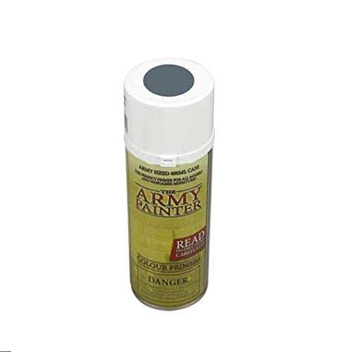 The Army Painter – Colour Primer - Uniform Grey | 400ml | Acryl-Spray | Grundierung | für Modellmalerei
