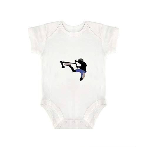 DKISEE Scooter Freestyle - Body divertido para bebé y niña