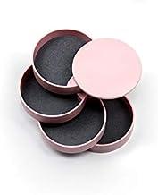 ZQLQU Women's jewelry storage box 4-layer rotatable jewelry storage box (Color : Pink)