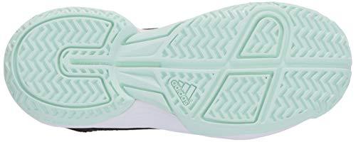 Product Image 4: adidas Unisex-Kid's Adizero Club Sneaker, core Black/Dash Green/FTWR White, 11K M US Big Kid