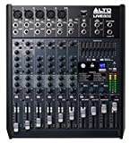 Alto Live 802 - Mezclador para DJ (24 Bit, 24-bit, 20 - 20000 Hz, 51100 Ohmio, 0,005%, 45W)