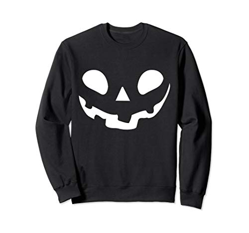 Smiley Face Kürbis Jack O Laterne Sweatshirt