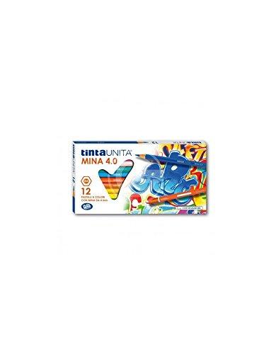 Pool Over - Tintauni 040700 Pastelli Tinta Unita da 12 Mina, 4 mm