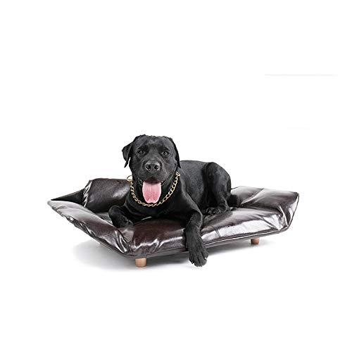 TEYUN Dog Sofa Bed Mattress Pet Sofa (Color : Browm, Size : 103 * 65 * 28cm)