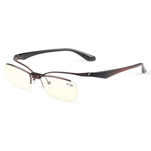 CXNEYE Las Gafas De Lectura De Luz Azul Anti Fatiga Ocular Súper Ligeras De Moda Se Pueden Voltear para Mirar De Lejos Y De Cerca Gafas Hombres Mujeres Gafas De Computadora