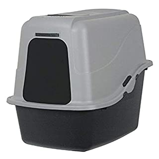 Petmate Hooded Litter Pan Set Large, Black/Gray (B000CMFVD2) | Amazon price tracker / tracking, Amazon price history charts, Amazon price watches, Amazon price drop alerts