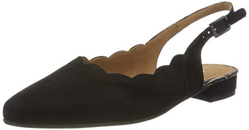 Gabor Shoes Comfort Fashion, Scarpe con Tacco Donna, Nero (Black (Zickzack) 48), 40.5 EU