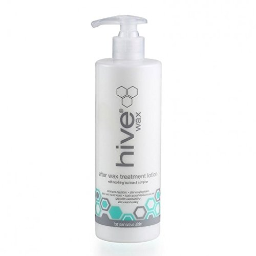 Hive Options After Wax Treatment Lotion with Tea Tree Oil with Cooling Agents and Antiseptic Properties 400ml
