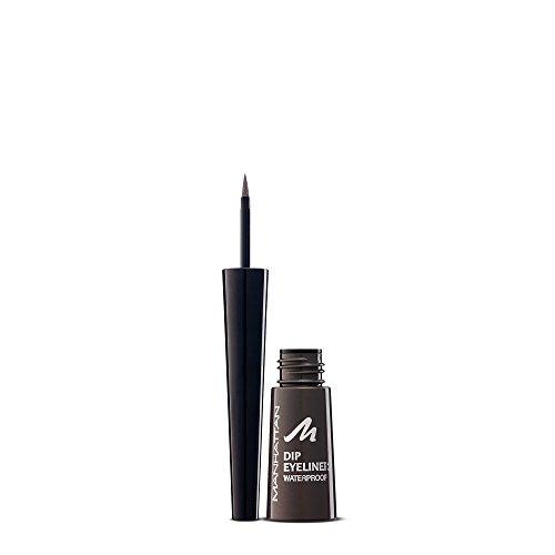 Manhattan Dip Eyeliner Waterproof – Schwarzer Filzstift Eyeliner für den perfekten Cat Eye Schwung – Farbe 109D Anthracite– 1 x 9,07g