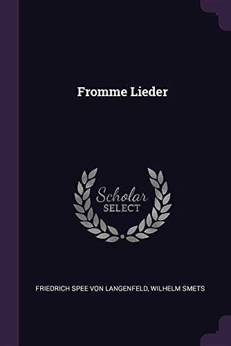 FROMME LIEDER
