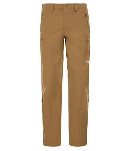 The North Face M Exploration - Pantaloni da Uomo, Colore: Kaki Britannico, 32