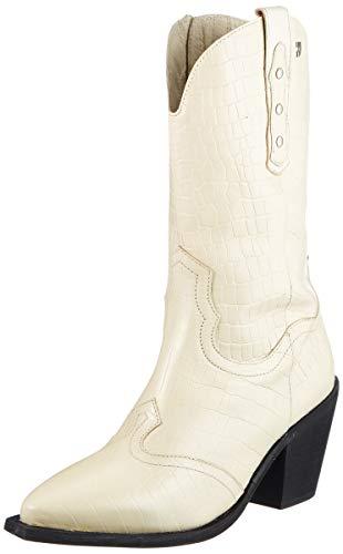 Gioseppo Damen Rerik Halblange Stiefel, Cremefarben, 38 EU
