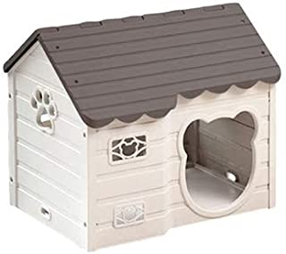 Alpha Dog Series Medium-Sized Indoor Plastic Doghouse