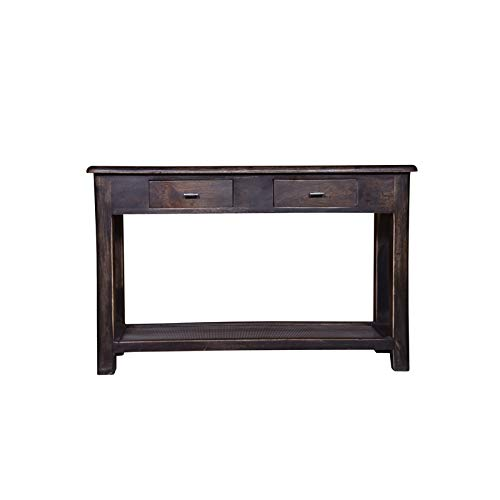 """Designe Gallerie Console Table with Drawer for Entryway,Hallway, Living Room, Rustic Style Home Furniture, Natural Finish, 30.5"""" H, Brown Color,"""