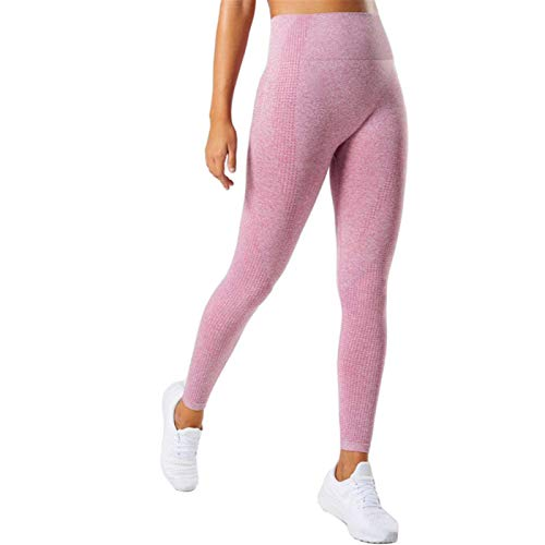 WMNU 2020 New Leggings for Women Seamless High Waist Push Up High Elastic Fitness Jeggings Femme Workout Yoga Pants Pink