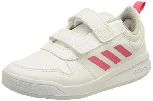 adidas Tensaur, Road Running Shoe, Cloud White/Real Pink/Cloud White, 27 EU