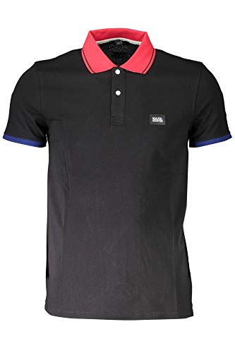 KARL LAGERFELD Polo Basic - Black