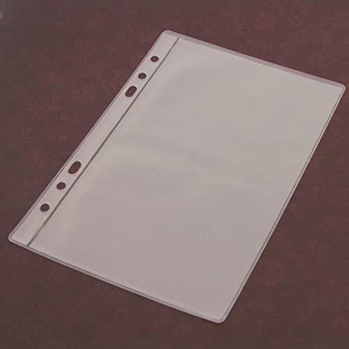 ECMQS 5 Blatt 3 Arten Scrapbooking Aufbewahrung Stanzen, Transparent Weiß,14cmx19.5cm/5.51inx7.68in (1 Gitter)