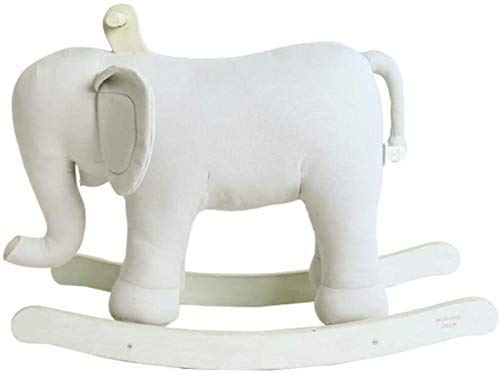 Aaedrag Rocking Horses Kid Rocking Toy 29.5×12.5×23.6inch,Elephant,load 50kg,Infant Rocking Indoor and Outdoor Toys Rocking Animal,Early Birthday Gift/Children's Rocking Chair
