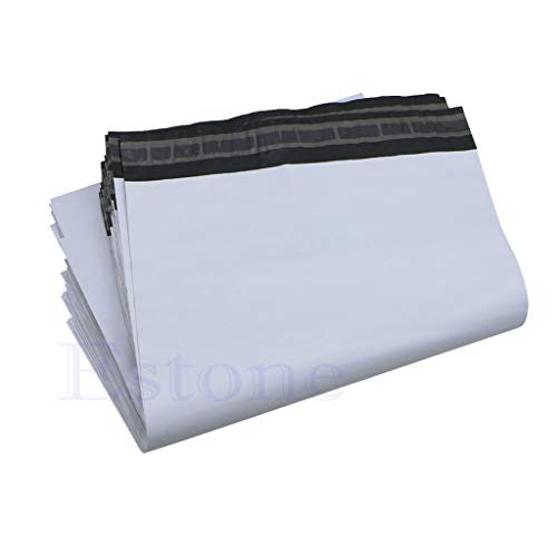zrshygs Courier Bags For Deliveries 100Pcs 20 * 34cm Poly Mailer Plastic Shipping Mailing Bags Envelope Polybag New
