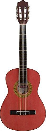 Stagg C410 M RED 1/2 Konzertgitarre, rot