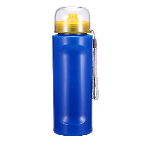 Bouteille de Filtration d'eau sans Logo pour la randonnée, Le Camping, la sécurité et la Survie, Bleu