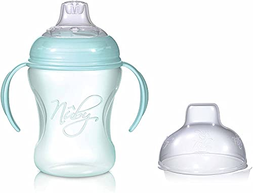 SRV Hub 240ml Soft Flex Cup for Baby/Toddler, Natural Touch Training Cup, Silicone Spout, 6+ Months