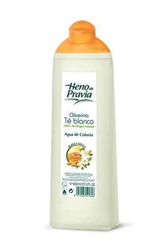 HENO DE PRAVIA agua de colonia glicerina y té blanco bote 650 ml