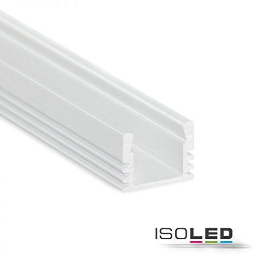 LED Aluprofil MAXI-AB, Weiß Länge 2 Meter