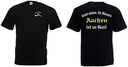 World of Shirt Herren T-Shirt Aachen Ultras kniet nieder