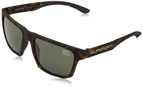 Superdry Combat gafas de sol, Rubberised Tort, OS para Hombre