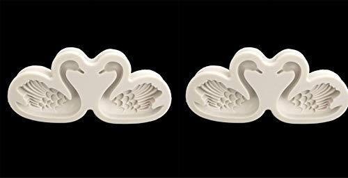 LXWLXDF-Backform 3D Gans Form Silikon Kuchenform, handgemachte Pudding Gelee Dessert, Schokolade Candy Mold, Kuchen Dekoration Werkzeug, Backblech, Lehmseife Form, Küchenbackenwerkzeug