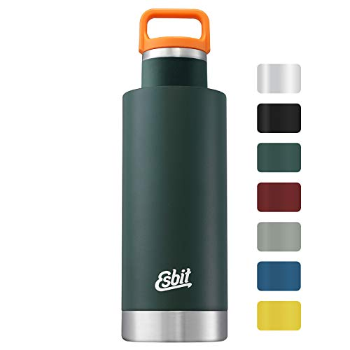 Esbit IB750SC-FGN SCULPTOR Thermoflasche, Edelstahl, Forest Green