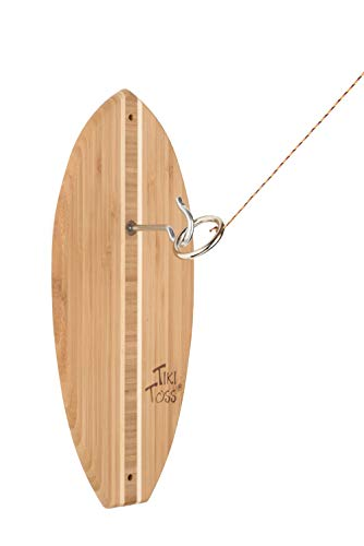 Tiki Toss Original Hook And Ring Game Set - 100% Bamboo With All Hardware Included