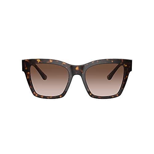 Dolce&Gabbana Occhiali da Sole Donna DG4384 502/13 Havana/Marrone Sfumato 53